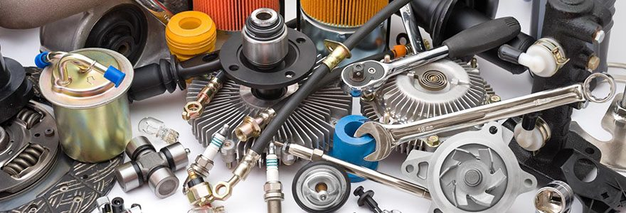 Acheter des pièces de rechange et de l'équipement pour voitures en ligne