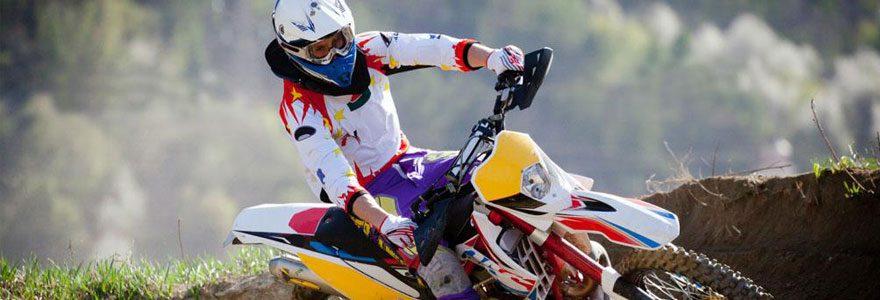 Matériel et équipement pour faire du motocross