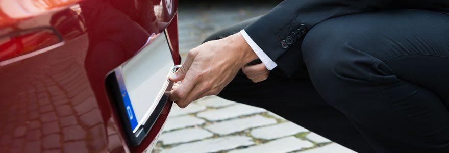 Quelles plaques d'immatriculation pour votre véhicule ?